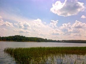 Lake near Olsztyn, Warmia region
